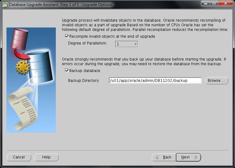 Oracle Database 11g DBUA - 05