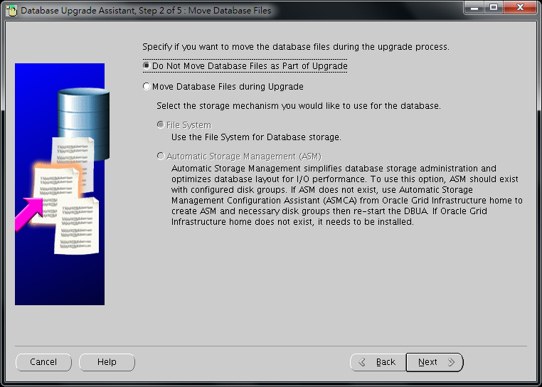 Oracle Database 11g DBUA - 06