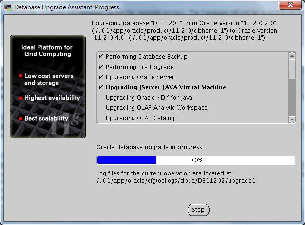 Oracle Database 11g DBUA - 09-1