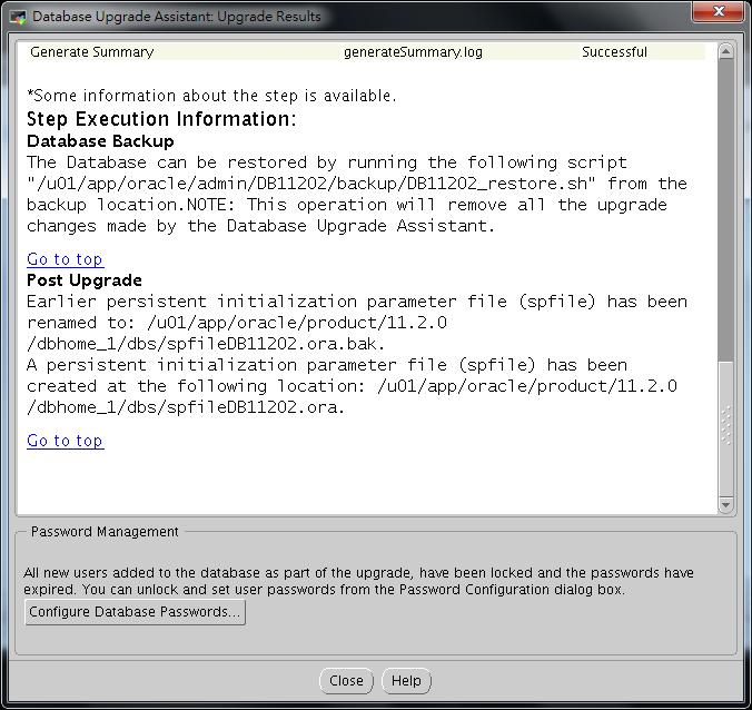Oracle Database 11g DBUA - 10-3