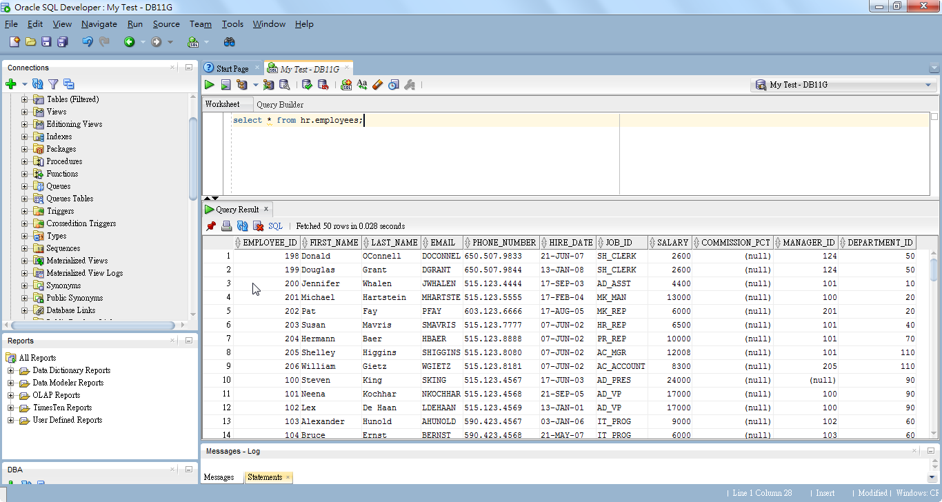 How to Export Query Result to CSV in SQL Developer - Ed Chen