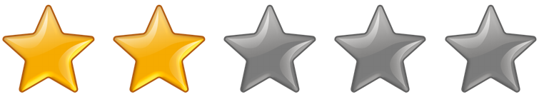 Rating 2 Stars