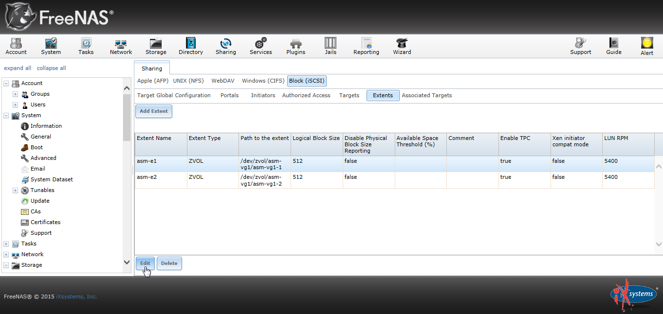 Freenas Disable Physical Block Size Reporting 00