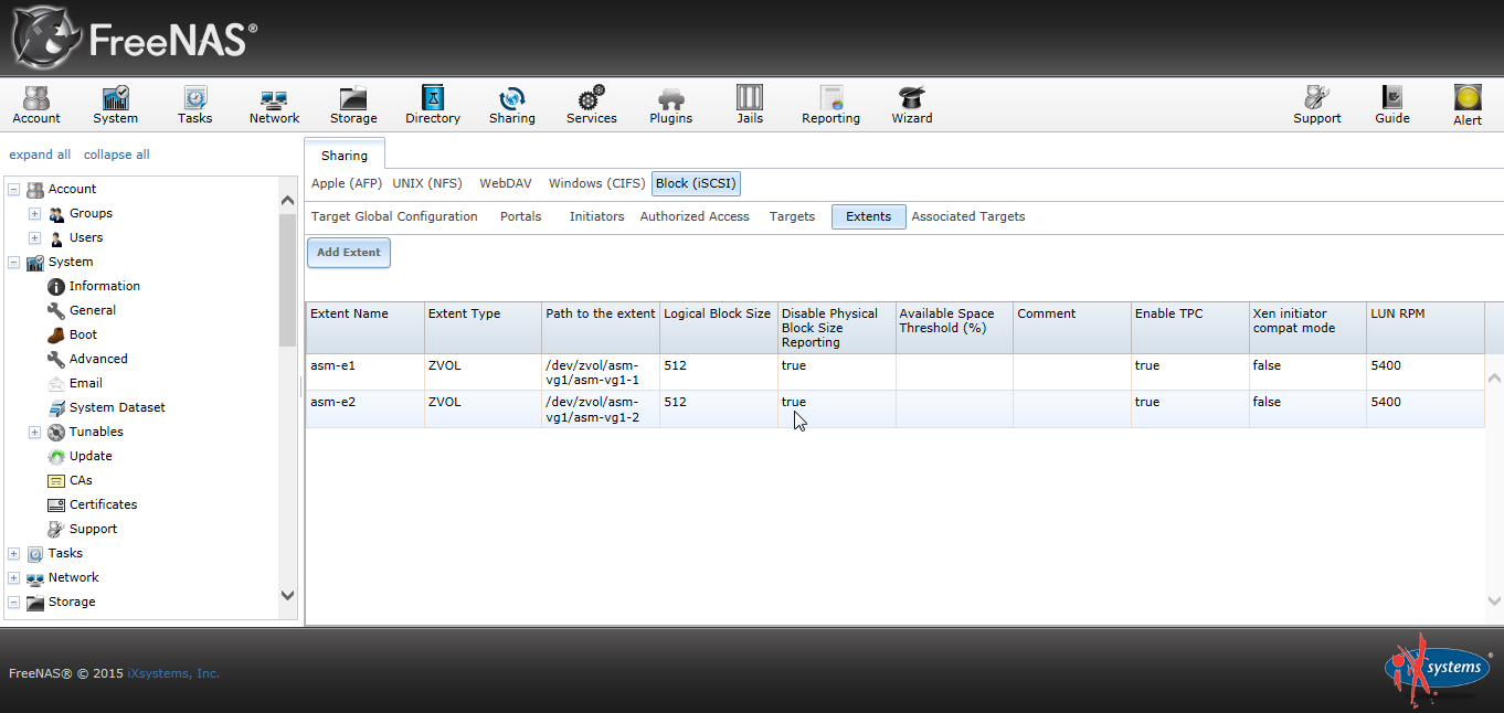 Freenas Disable Physical Block Size Reporting 03