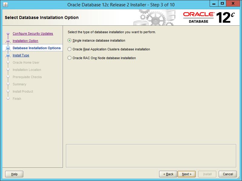Oracle 12.2 OUI - Step 03