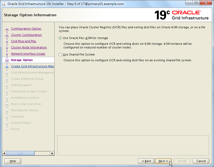 Oracle 19c Grid Infrastructure Installation - 06